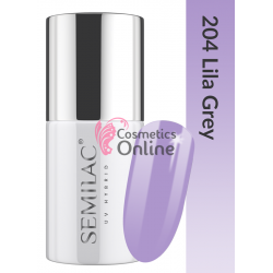 Oja UV Semilac 204 mov Lila Grey 7 ml